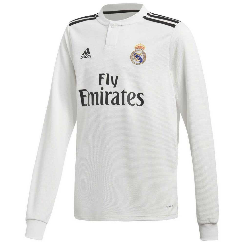 64df83a20 adidas Real Madrid Home Jersey Junior buy and offers on Goalinn