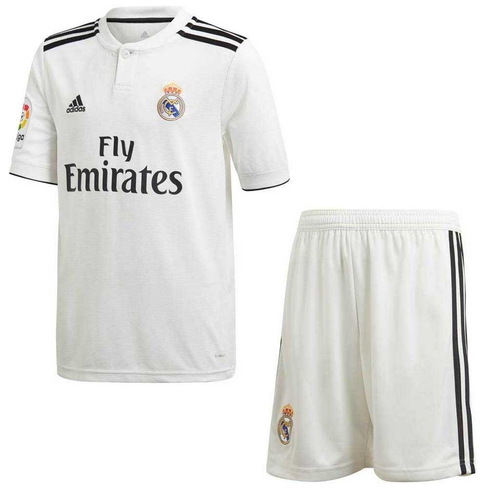 adidas Real Madrid Home Kit 18 19 Branco ad1407c5451bb