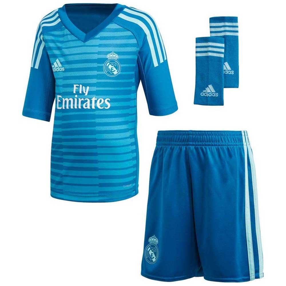 2cb8a99f2 adidas Real Madrid Away Goalkeeper Kit 18 19 Azul