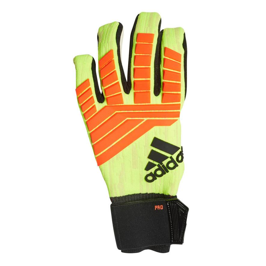 Paine Gillic profundidad deletrear  adidas Goalkeeper Gloves Predator Pro Energy Mode - Solar Yellow/Solar Red  | CW5588 | FOOTY.COM