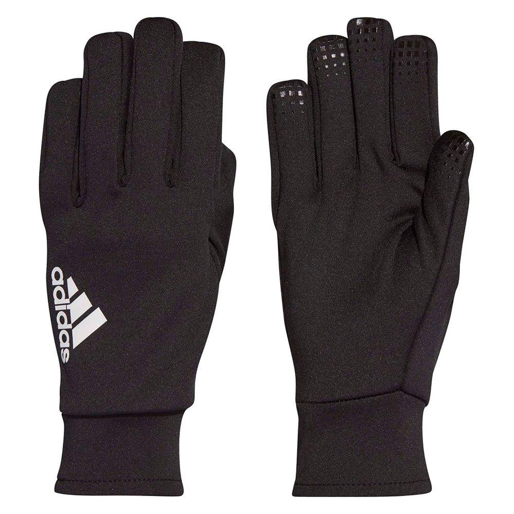 NIKE HYPERWARM FIELD PLAYER Soccer Gloves BlackWhite