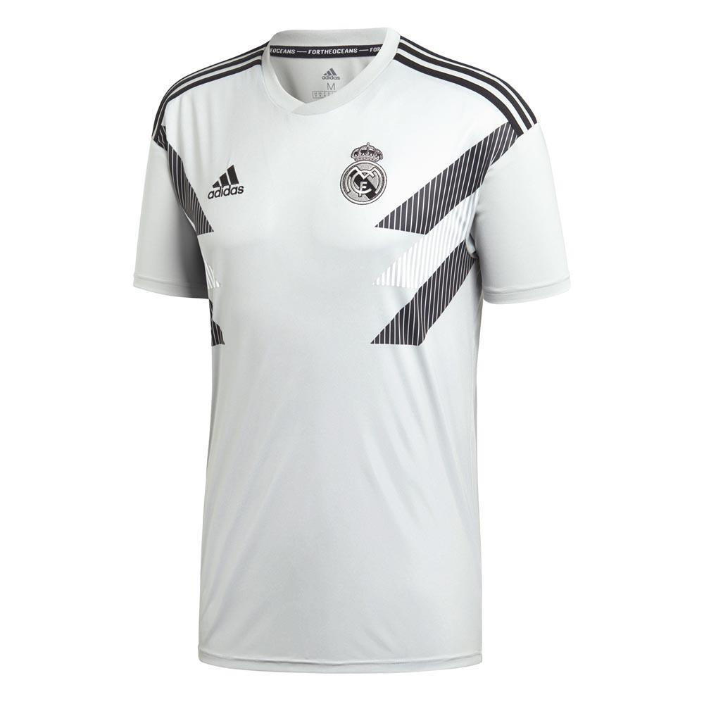 adidas Real Madrid Home Pre Match 1819 Branco, Goalinn Futebol