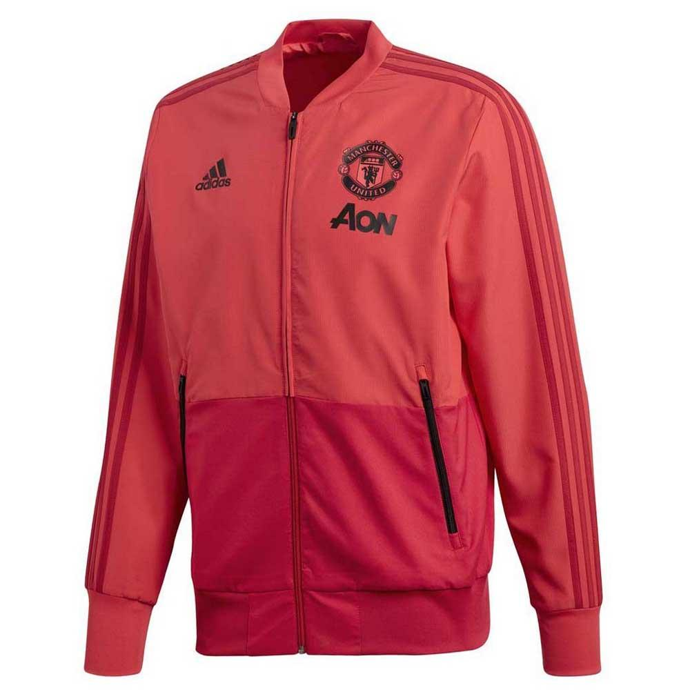 adidas Manchester United FC Presentation Jacket Red, Goalinn