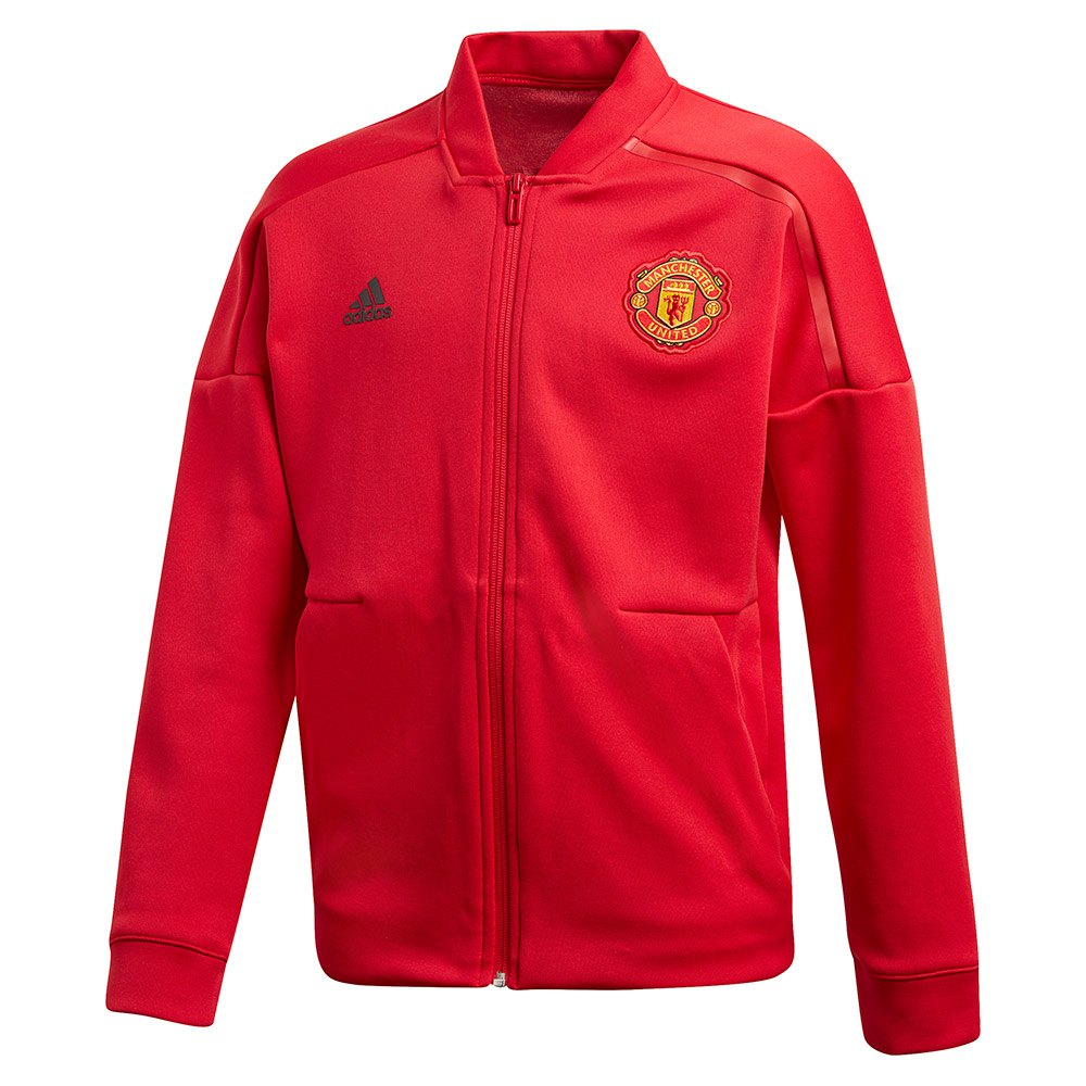 adidas Manchester United FC ZNE Jacket Junior Red, Goalinn