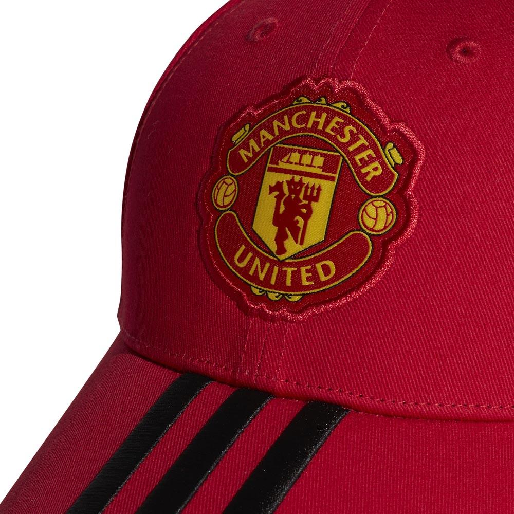 7d4821dc58752 adidas Manchester United FC 3 Stripes Vermelho