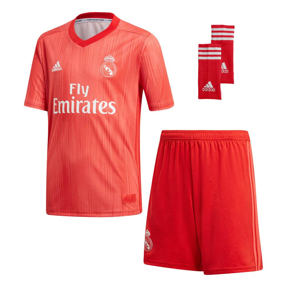 76a893e08c7 adidas Real Madrid 3rd Kit 18 19 Red buy and offers on Goalinn