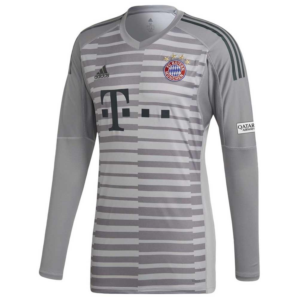 4ec7528318f adidas FC Bayern Munich Home Goalkeeper 18 19 Grey