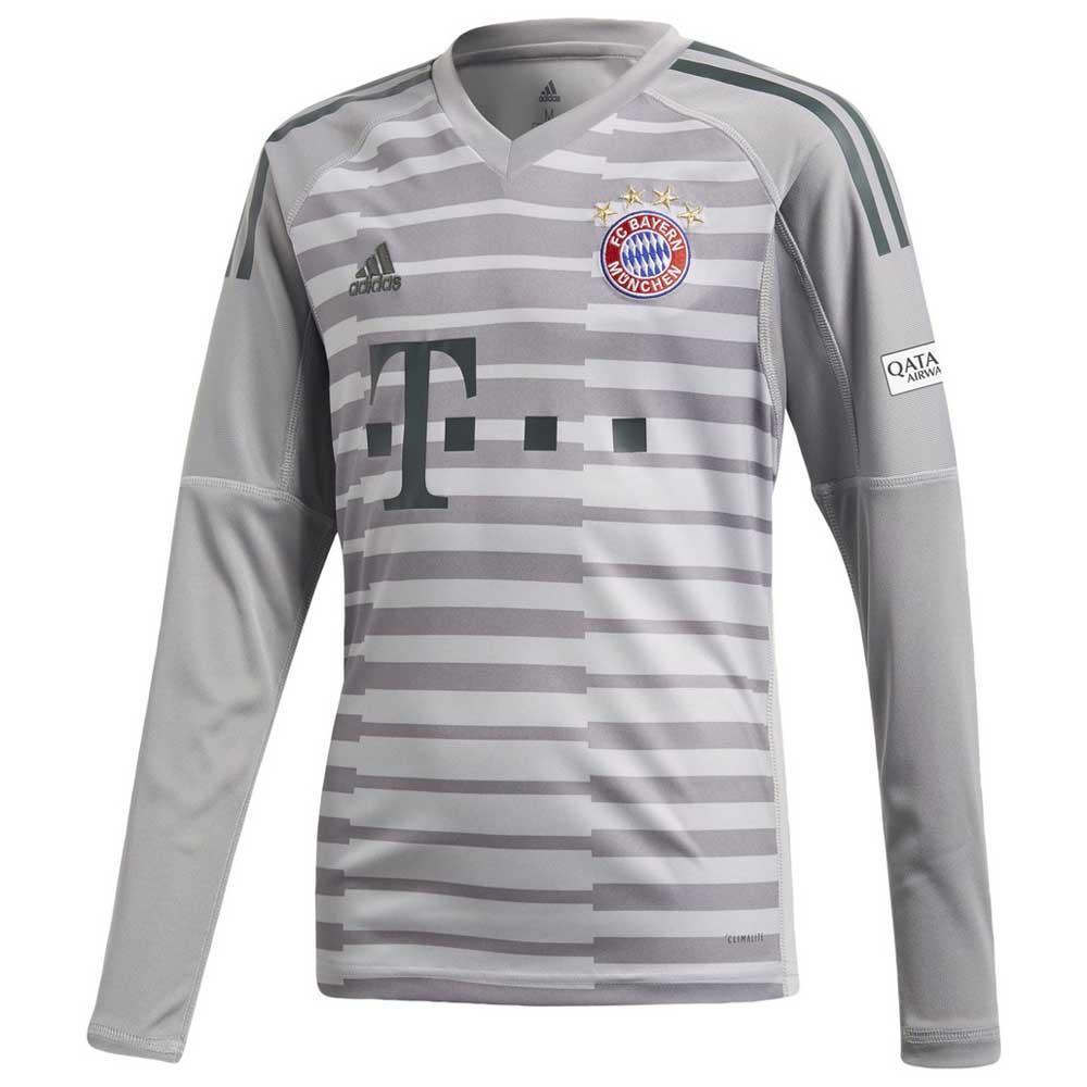 ae395bfef adidas FC Bayern Munich Home Goalkeeper 18/19 Junior Grey, Goalinn