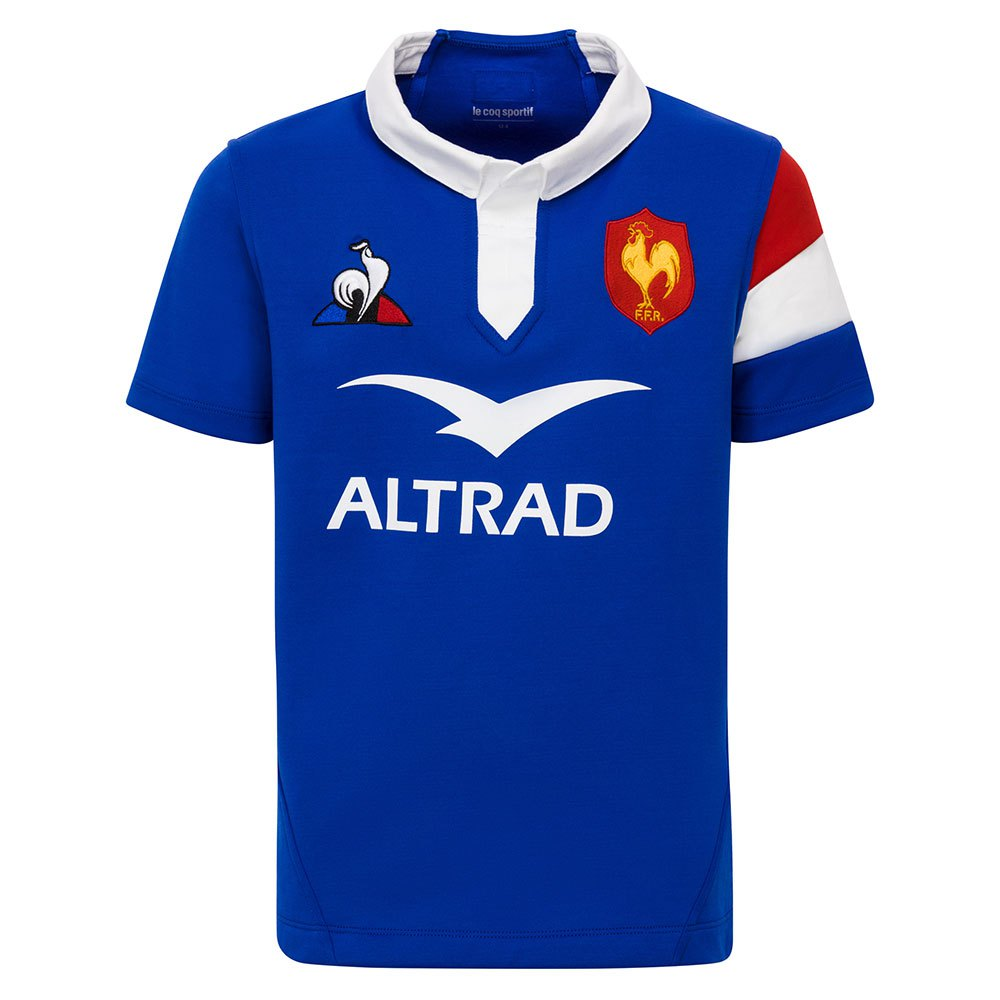 new arrival factory outlets new high quality Le coq sportif France XV Home 18/19 Junior