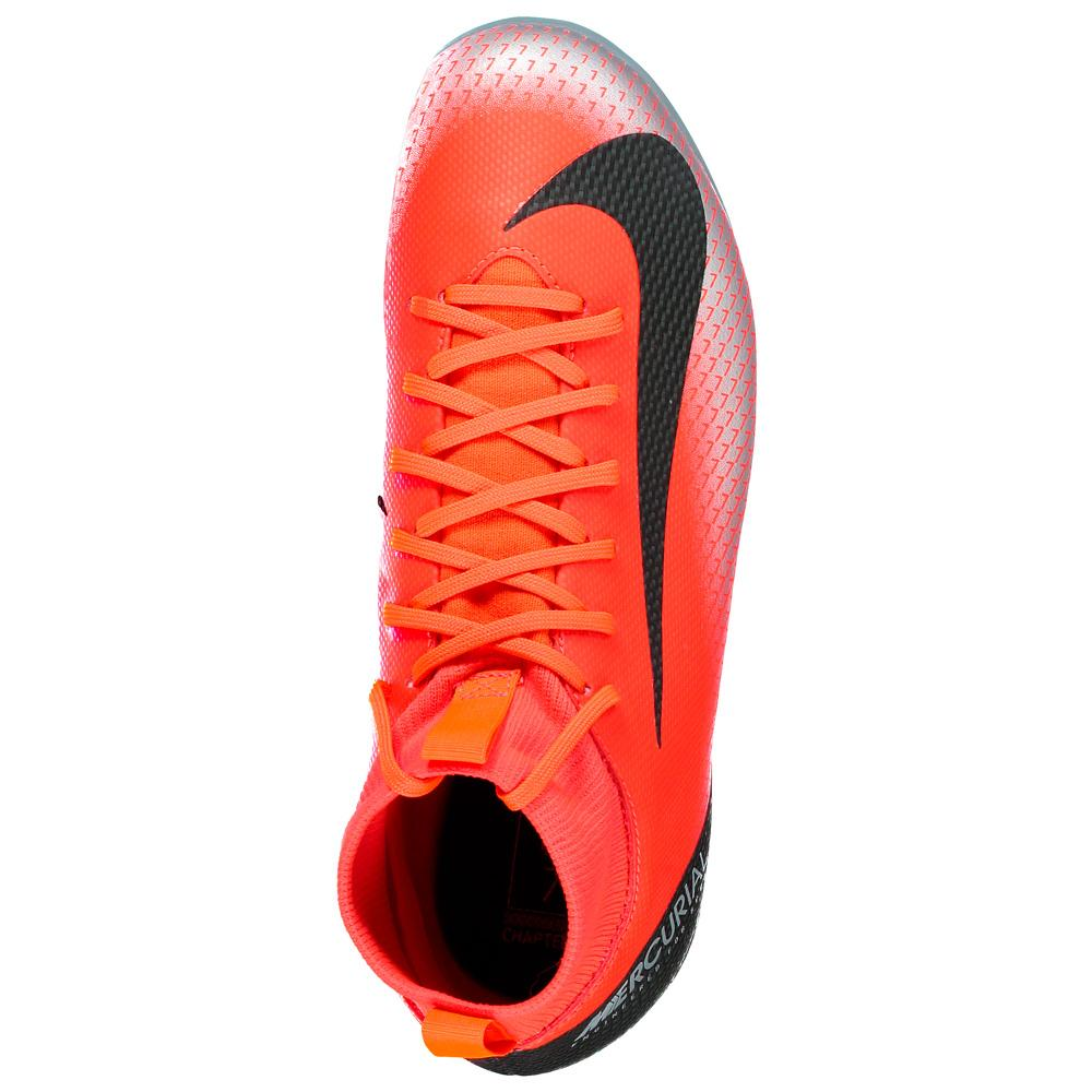 7437b26cd7 Nike Mercurialx Superfly VI Academy CR7 GS FG MG Laranja