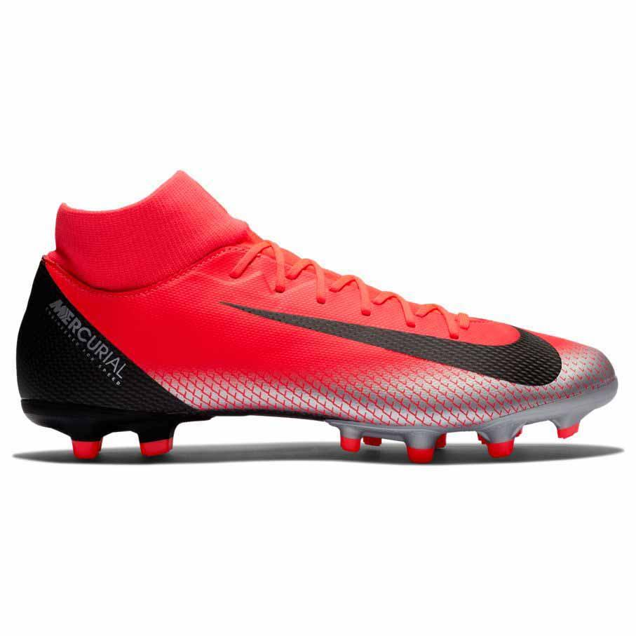 mármol entrada vertical  Nike Mercurial Superfly VI Academy CR7 FG/MG Red, Goalinn