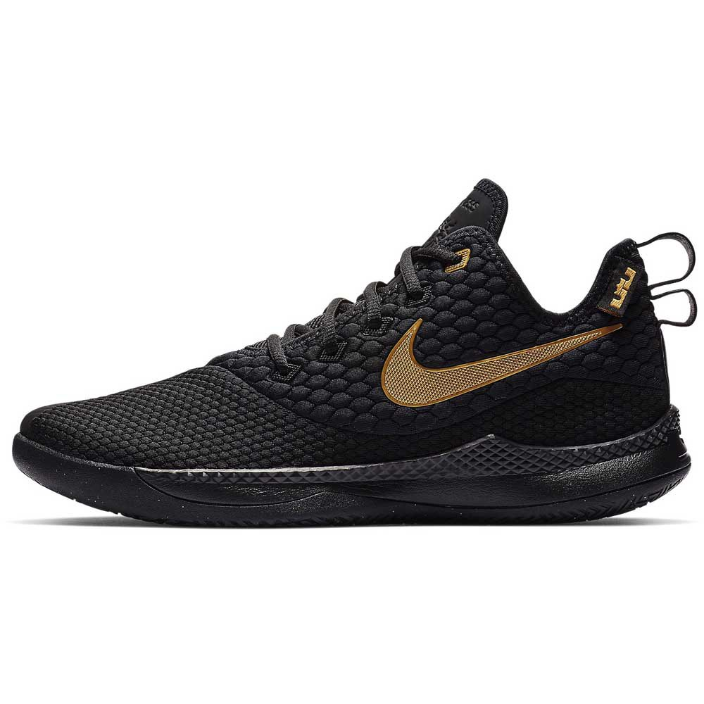 8d5ae51bc1a Nike LeBron Witness III Black buy and offers on Goalinn