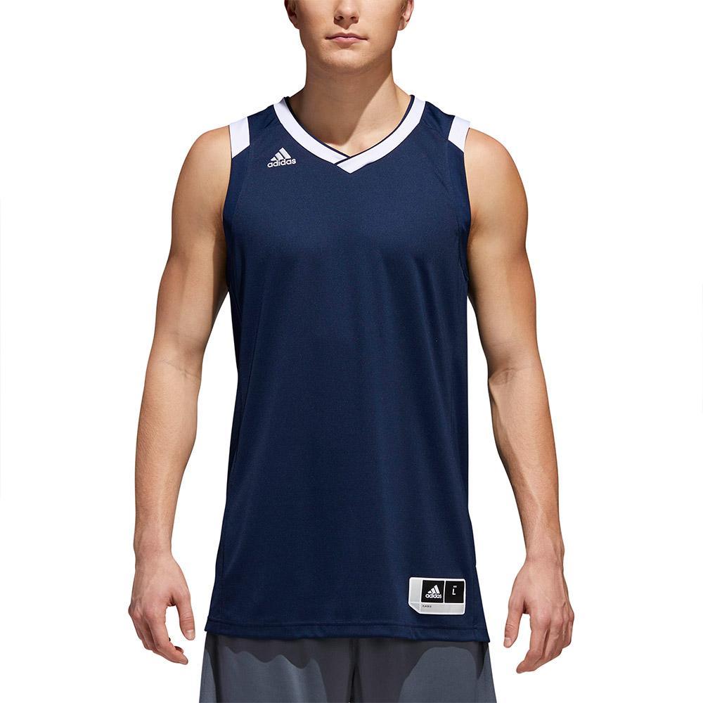 adidas Crazy Explosive Jersey Tall Sleeveless T-Shirt Blue, Goalinn