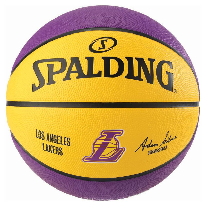 Spalding Nba Los Angeles Lakers Yellow Buy And Offers On Goalinn
