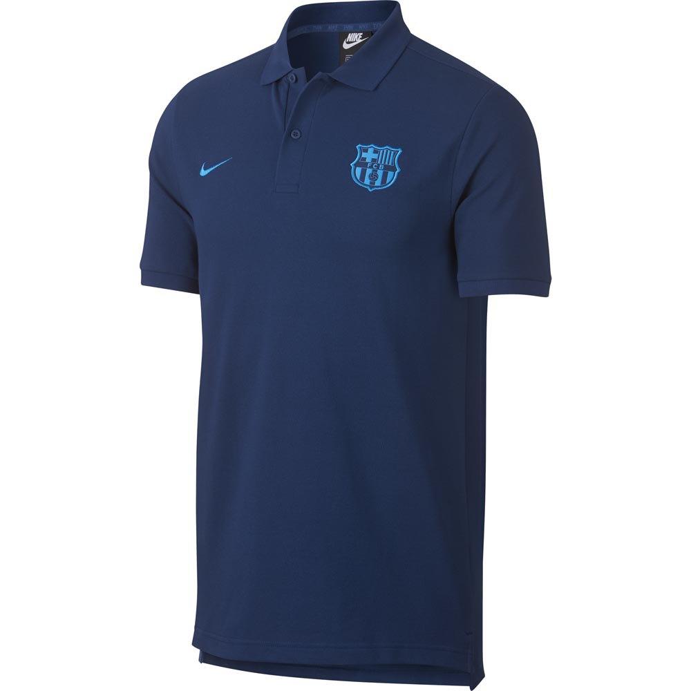 aefb7b93e21 Nike FC Barcelona Crew 18 19 Blue buy and offers on Goalinn
