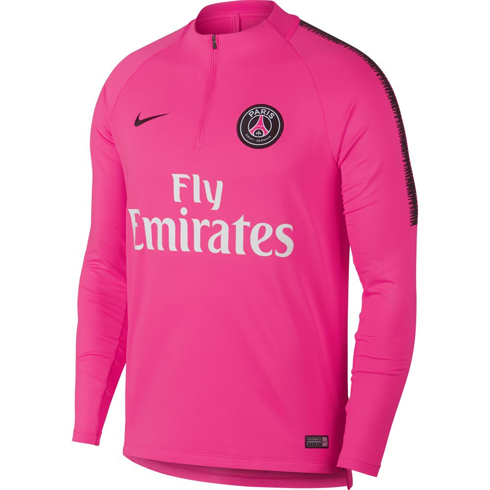 12be2a561e25 Nike Paris Saint Germain Dry Squad Drill 18 19 Pink