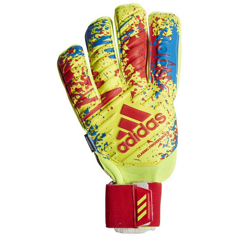 Espinoso Deambular Consecutivo  adidas Classic Pro Fingersave Yellow buy and offers on Goalinn