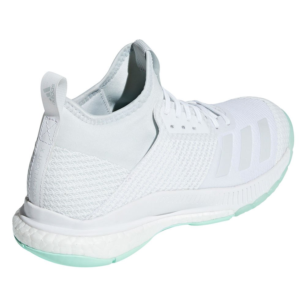 adidas Crazyflight X 2 Mid White buy and offers on Goalinn