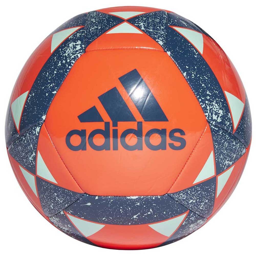 Bola Adidas Starlancer V Azul e Branca