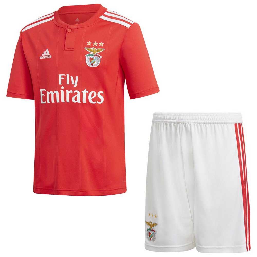 adidas SL Benfica Home SMU Junior Kit 18/19, Goalinn