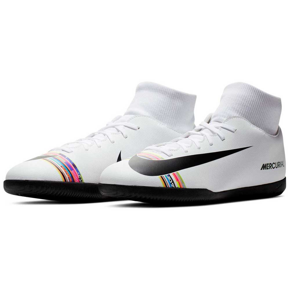 Chuteira Nike Mercurial Superfly 6 Academy Ic Futsal Branca