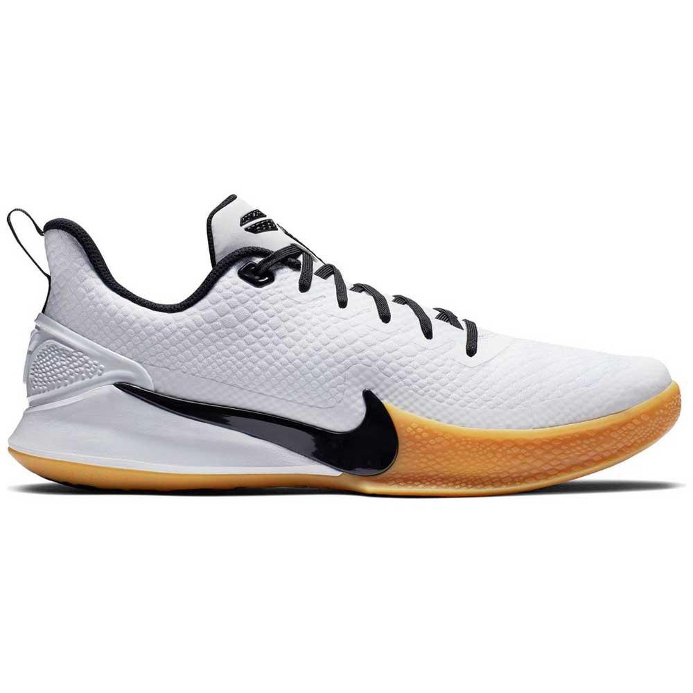 Nike Mamba 5 Hvit kjøp og tilbud, Goalinn Joggesko