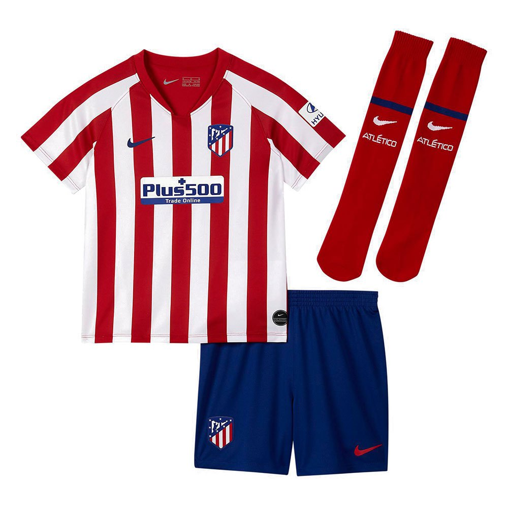 Nike Atletico Madrid Home Breathe Kit 19 20 Little Kid Tricolor Goalinn