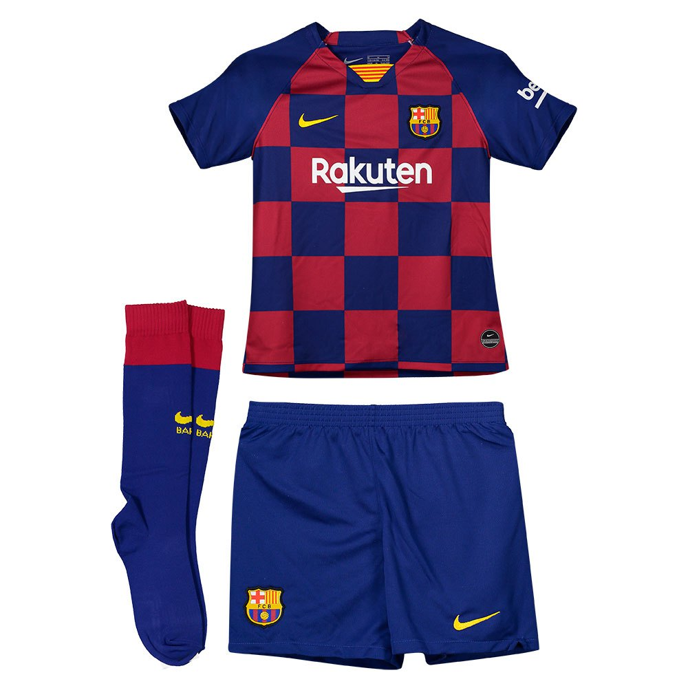 newest 46830 c357d Nike FC Barcelona Home Breathe Kit 19/20 Infant