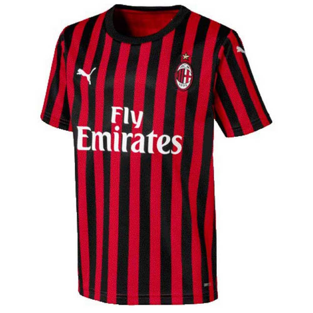 Puma AC Milan 2018-2019 Third Soccer Jersey Brand New Black Red