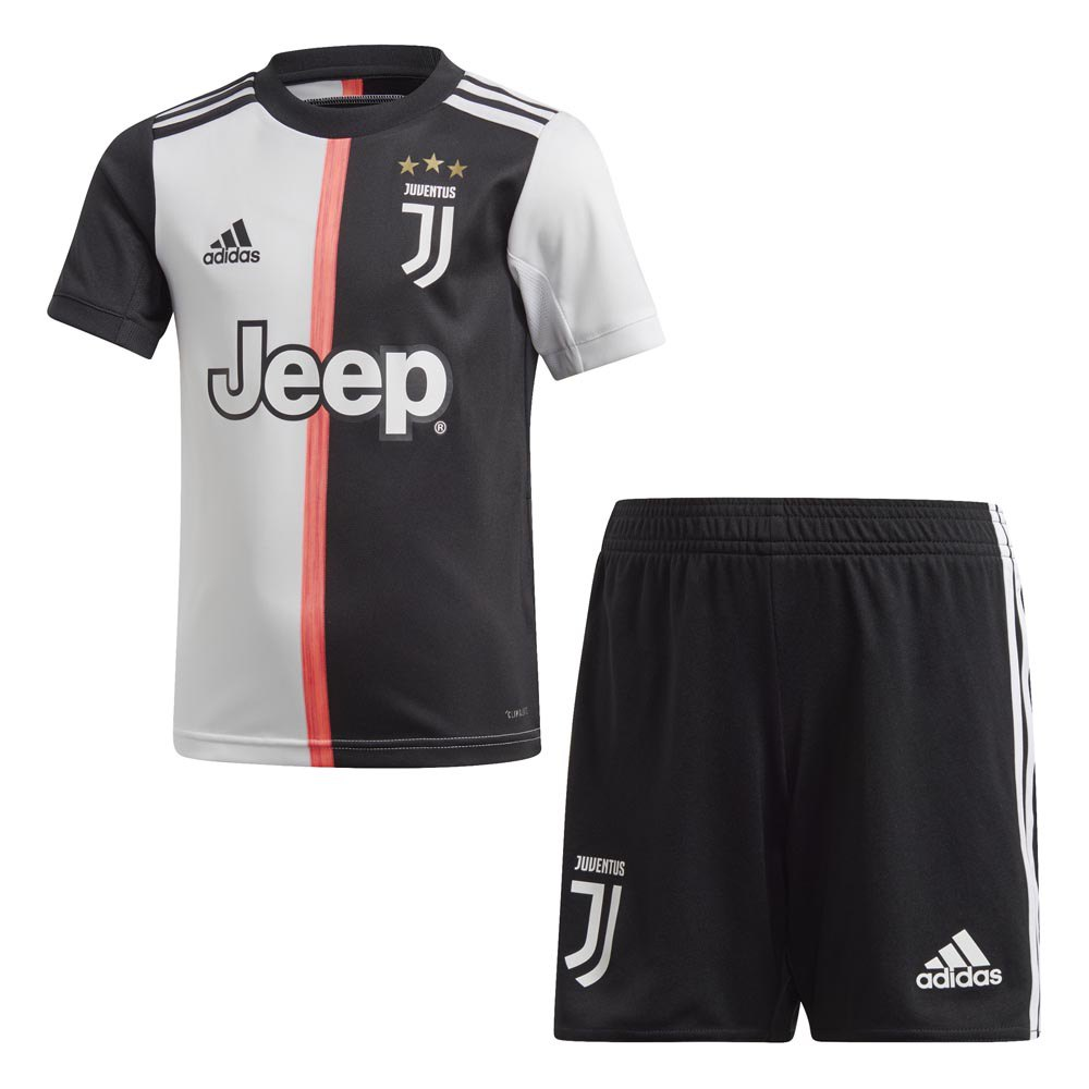 adidas juventus home mini kit 19 20 infant white goalinn adidas juventus home mini kit 19 20