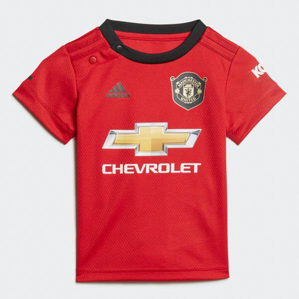 Manchester United Fc Home Baby Kit 19/20