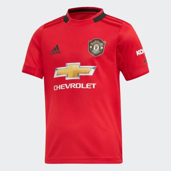Manchester United Fc Home Mini Kit 19/20 Infant