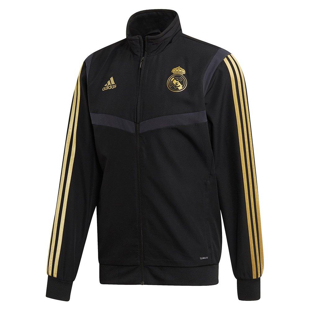 materno Jarra Desaparecido  adidas Real Madrid Presentation 19/20 Jacket Regular Silver, Goalinn