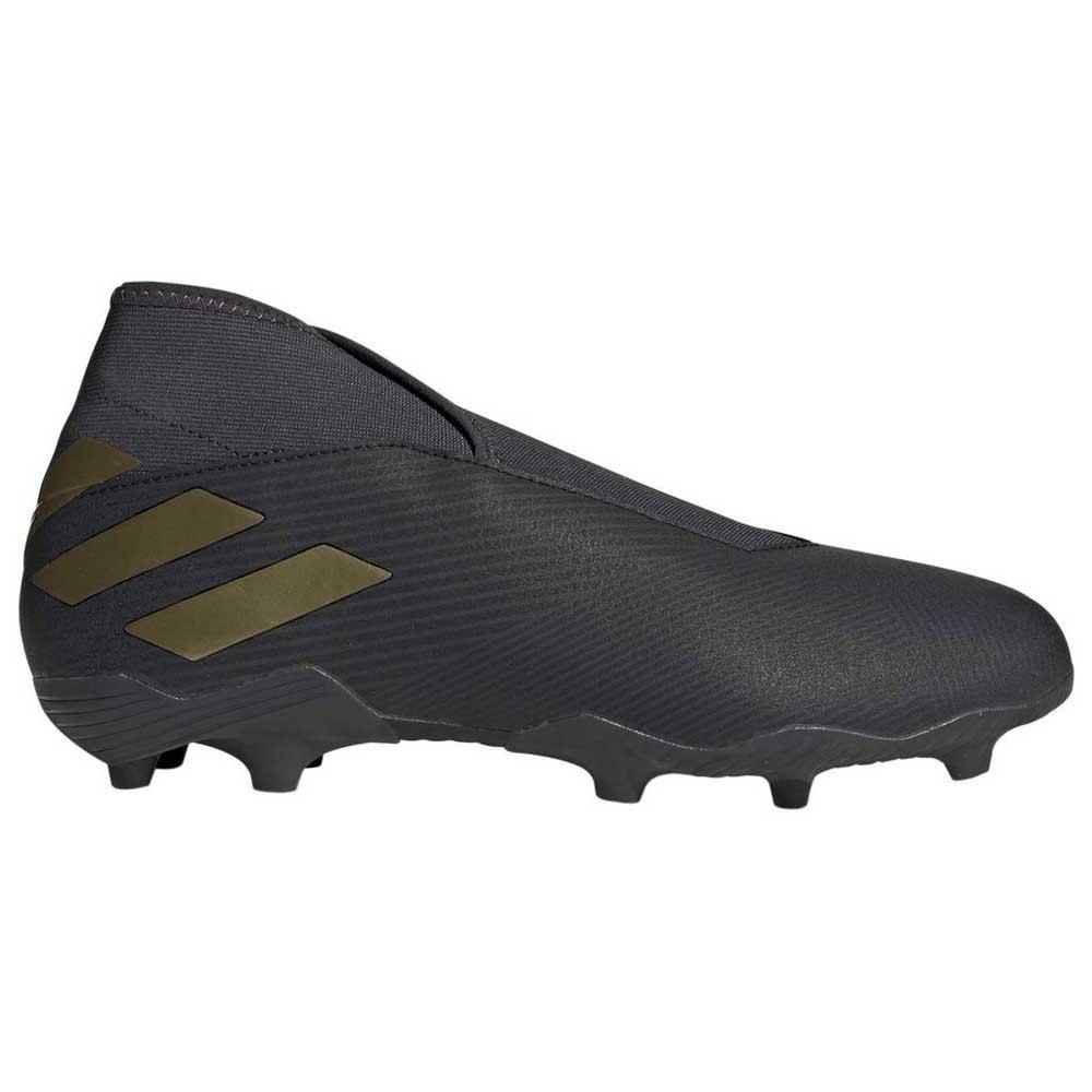 adidas Nemeziz 19.3 Laceless FG Black