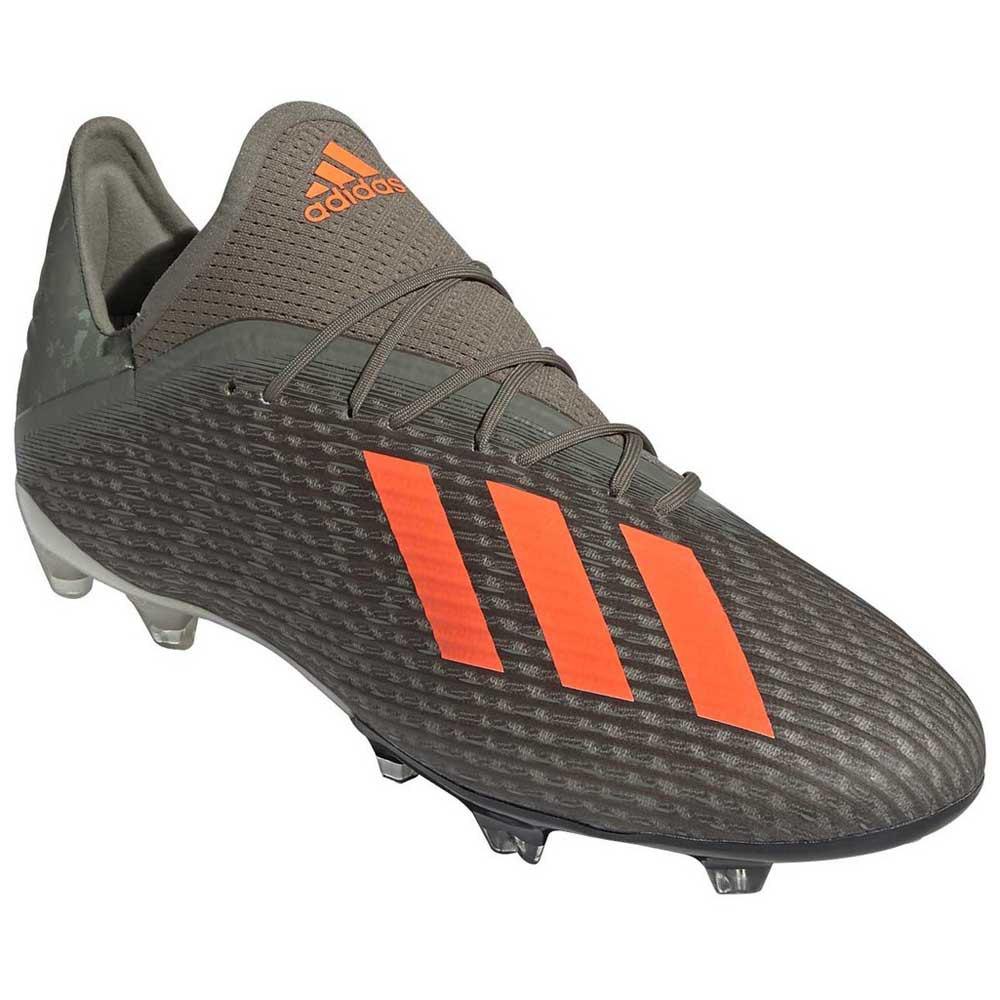 Adidas X 17.1 TF Silver Black Orange cleats   Chuteiras
