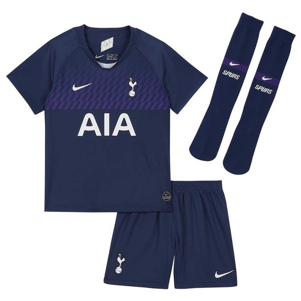 Nike Tottenham Hotspur Fc Away Breathe Little Kid Kit 19 20 Blue Goalinn