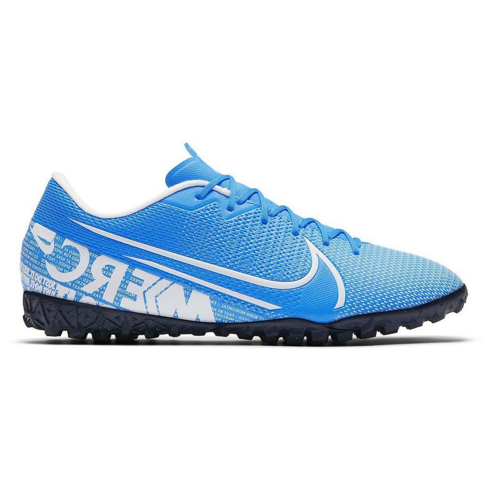Estacionario motivo Coherente  Nike Mercurial Vapor XIII Academy TF Blue, Goalinn