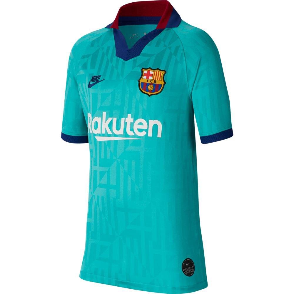 Nike Maglietta FC Barcelona Terza Breathe Stadium 19/20 Junior Blu ...