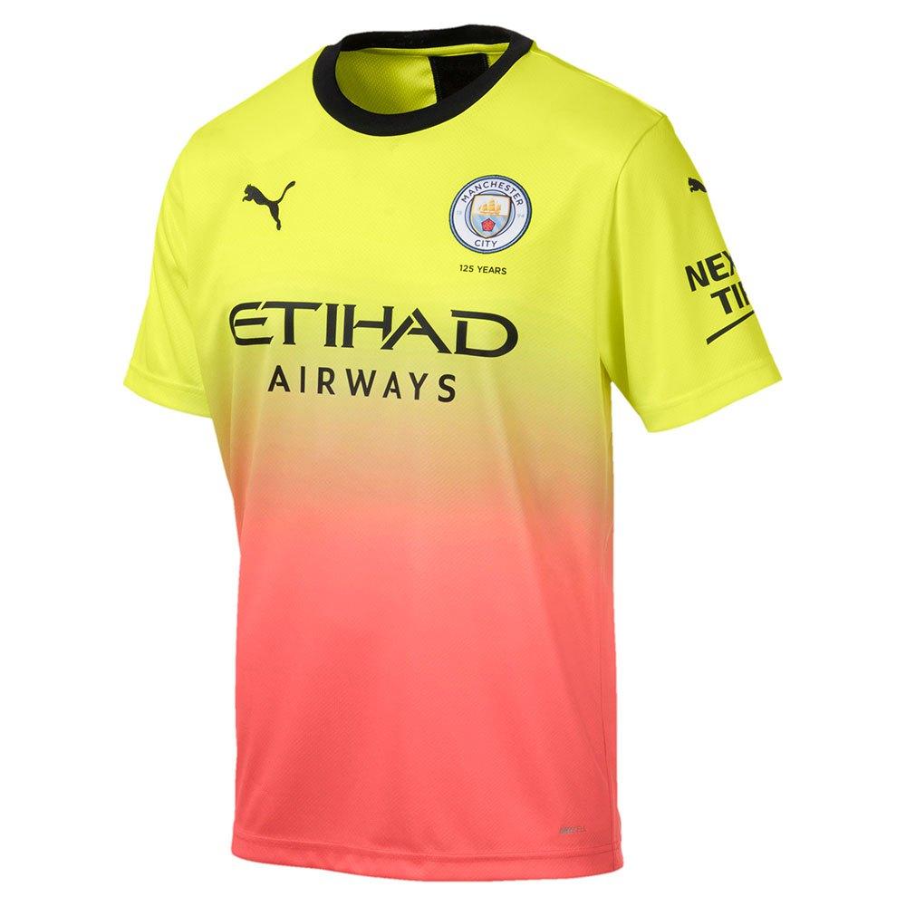 Lo anterior reporte índice  Puma Manchester City FC 3rd 19/20 Yellow, Goalinn