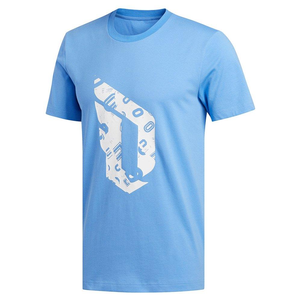 adidas Dame Logo Tee Regular Blå køb og tilbud, Goalinn T shirts
