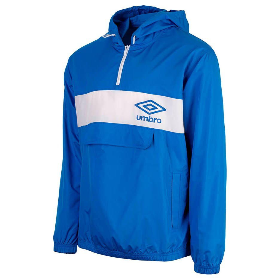 Vestes Umbro Panelled 1/2 Zip Cagoule L Regal Blue