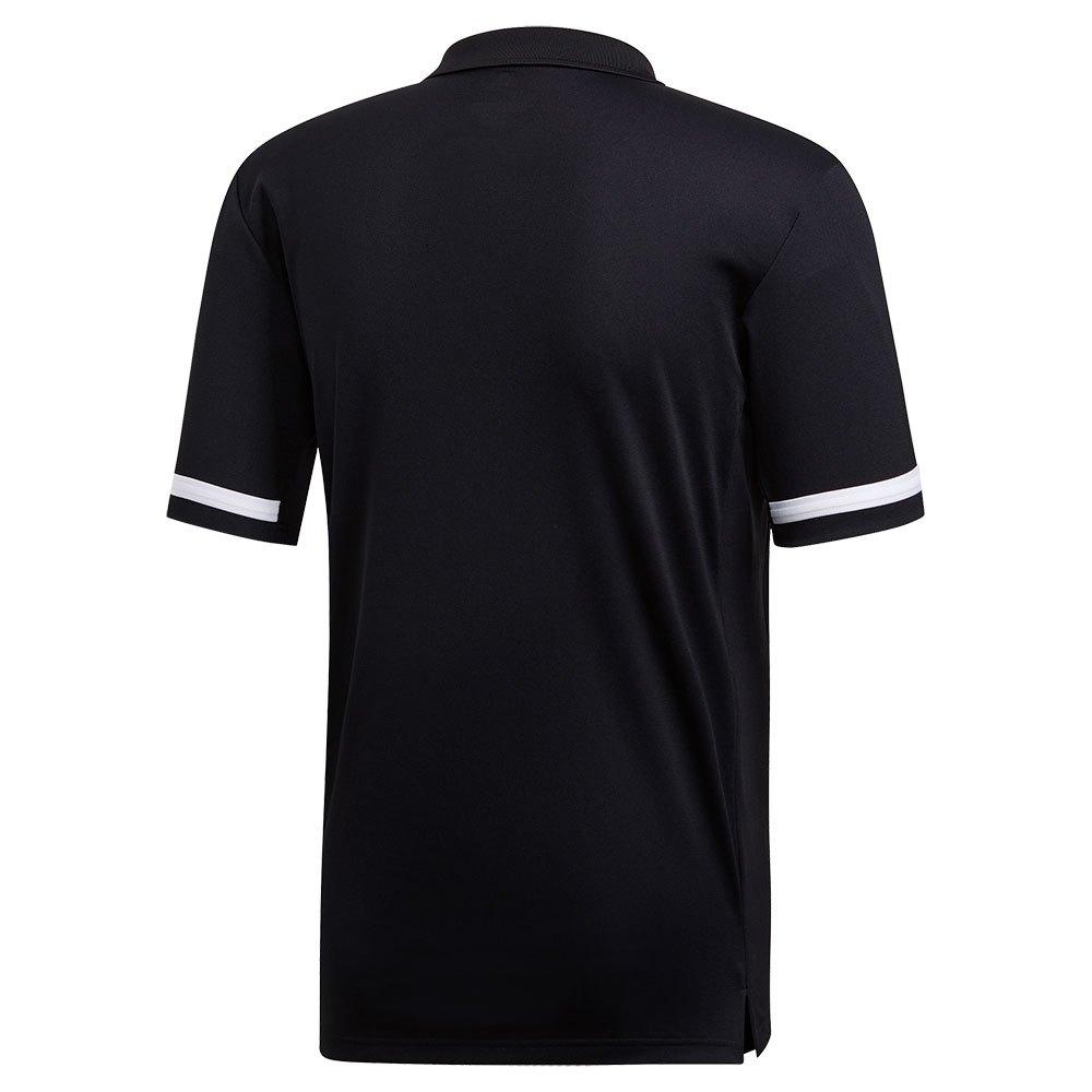 adidas Team 19 Long Short Sleeve Polo Shirt