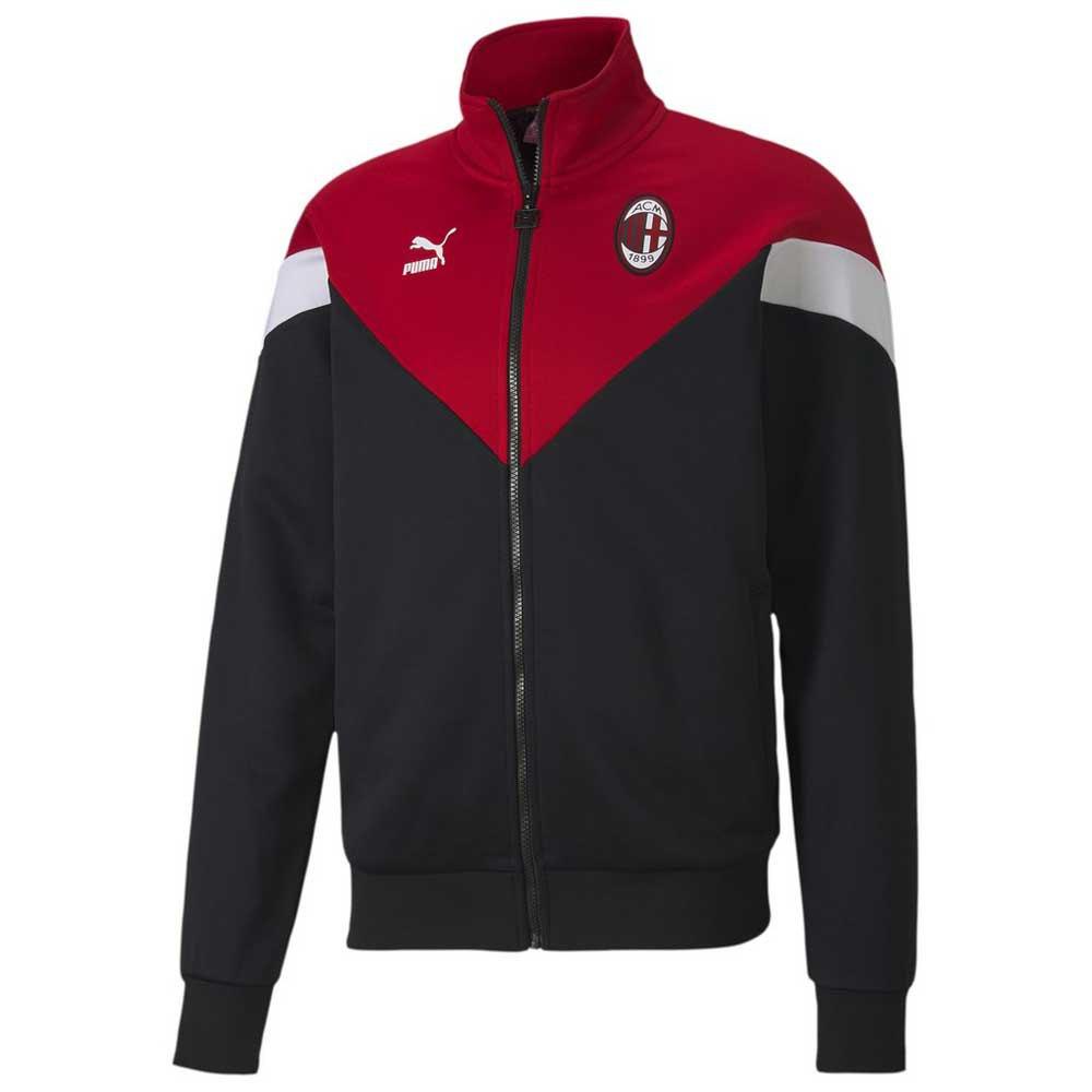 Puma AC Milan Iconic MCS Track 19/20 Jacket Black, Goalinn