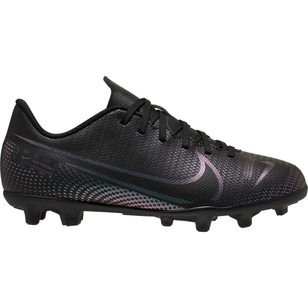 Nike Mercurial Vapor 13 Club MG, fotballsko junior Svart