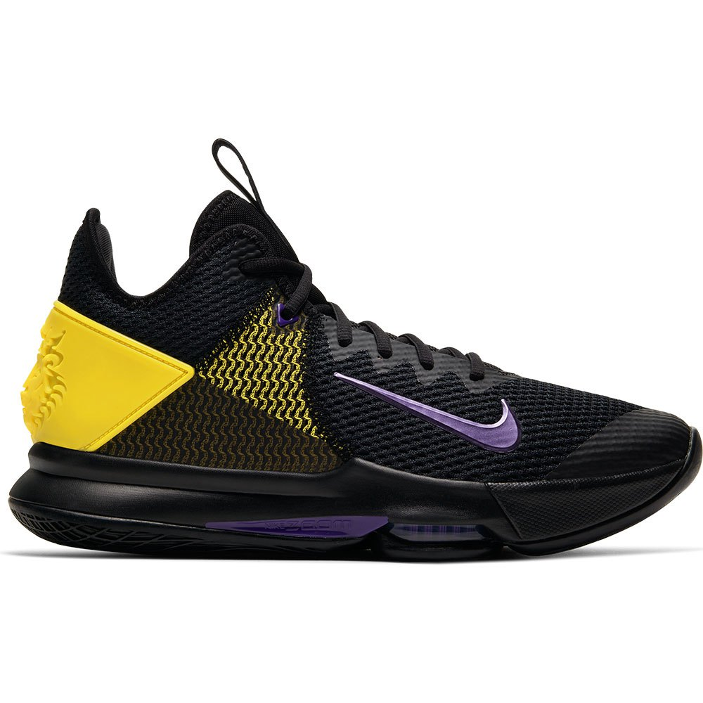 polilla dólar estadounidense terrorista  Nike Lebron Witness IV Black buy and offers on Goalinn
