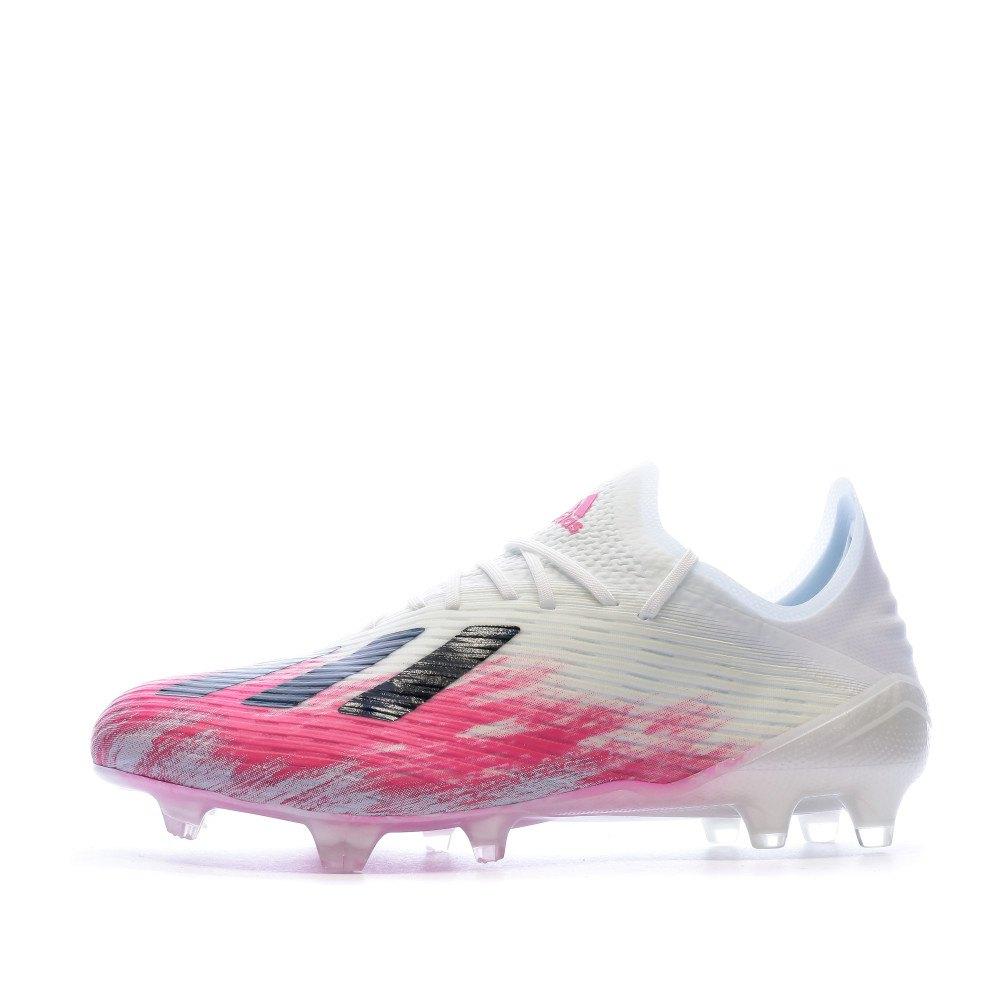 adidas Chaussures Football X 19.1 FG Blanc, Goalinn