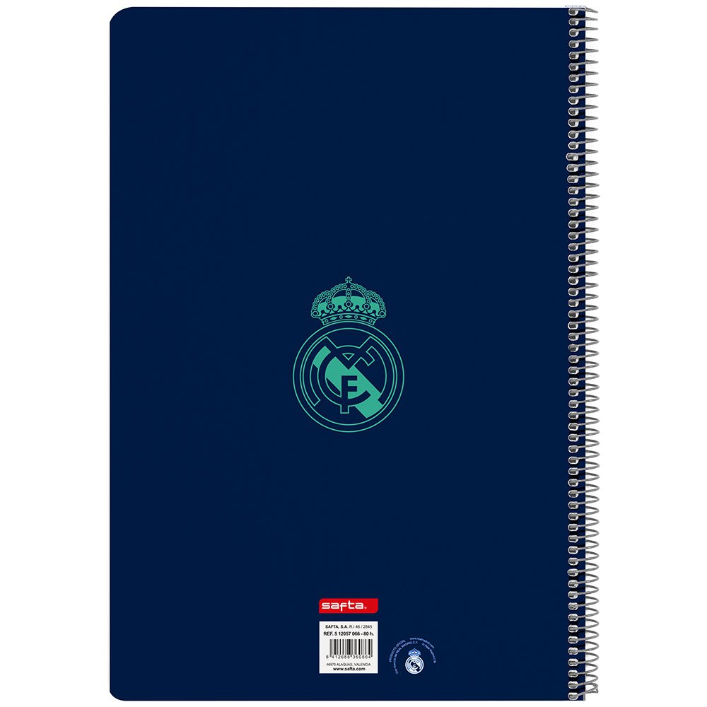 Real Madrid 3rd 19/20 Notebook 80 Sheets