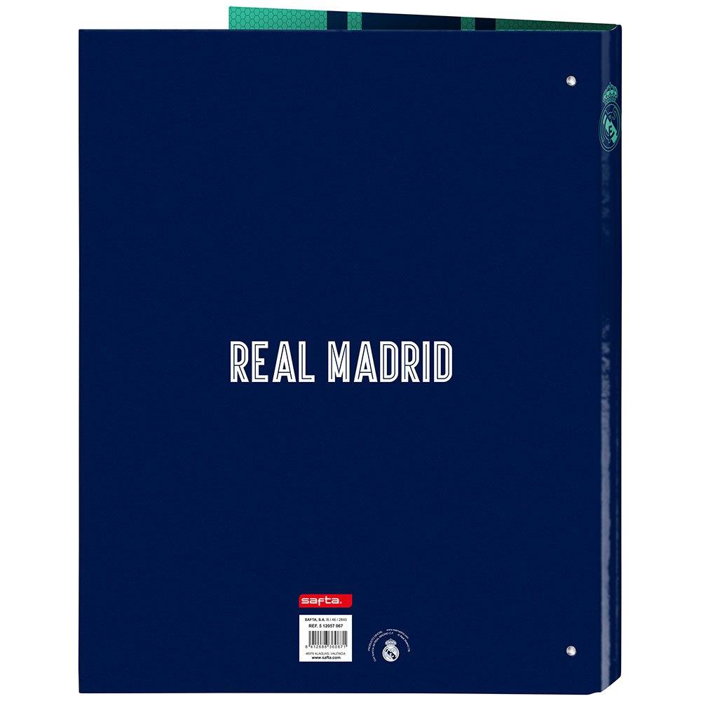 Real Madrid 3rd 19/20 Folder 4 Rings Mixed