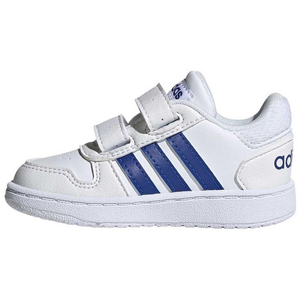 adidas Hoops 2.0 CMF Infant Hvit kjøp og tilbud, Goalinn