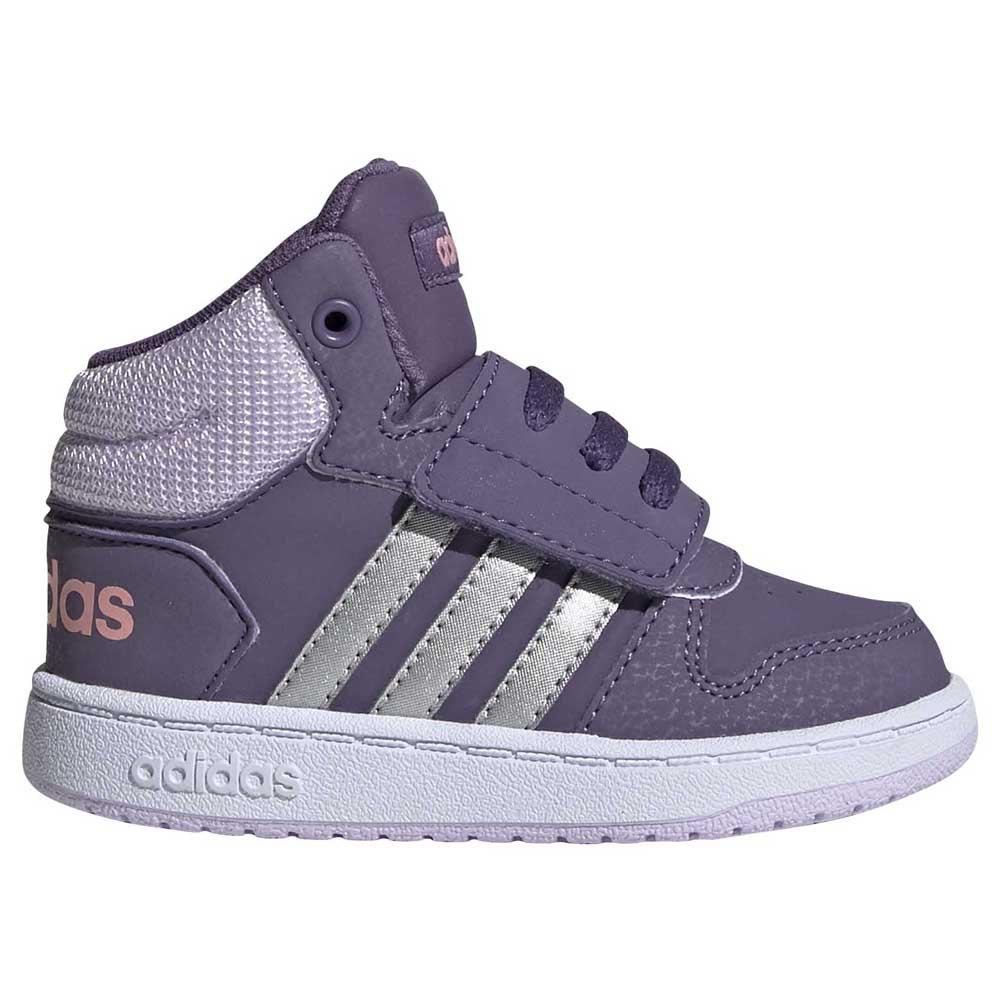 adidas Hoops Mid 2.0 Infant Grey buy